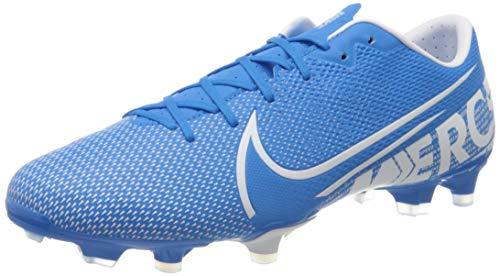Nike Unisex Vapor 13 Academy FM/GM Fußballschuhe, Mehrfarbig Black MTLC Cool Grey Cool Grey 1, 41 EU