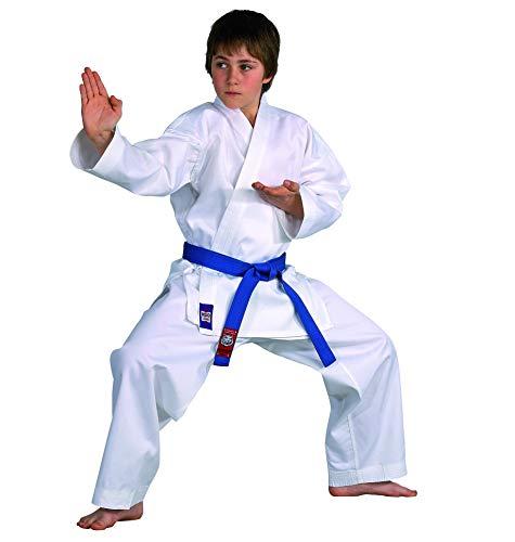 DanRho Karateanzug Dojo Line, weiß, 229049, Gr.170