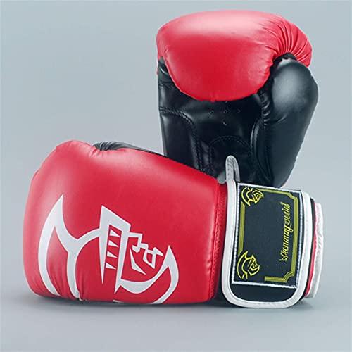 ZHBH Boxhandschuhe Boxhandschuhe Double Muay Thai PU Leder Boxhandschuhe Männer und Frauen Training MMA Grant Boxhandschuhe Training Fitness