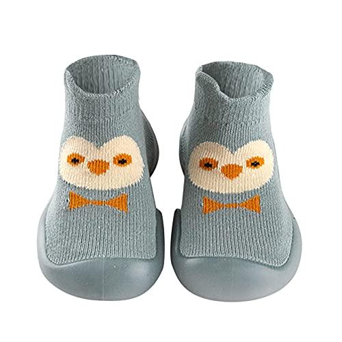 Kinderschuhe Mädchen Babyschuhe Jungen Baby Lauflernschuhe Rutschfesten Kleinkind Schuhe indoor Bodenschuhe Weichen Boden Baby Schuhe Atmungsaktive Sockenschuhe