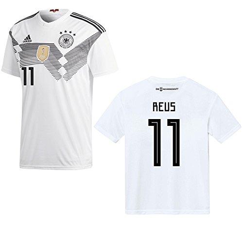 adidas DFB Deutschland Trikot Home Kinder 2018/2019 - Reus 11, Größe:152