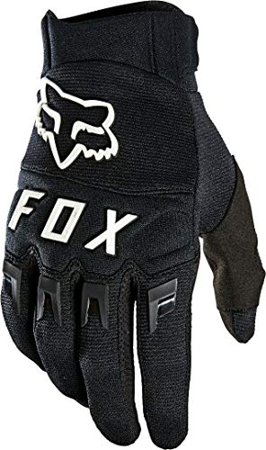Fox Dirtpaw Glove Black Black/White 4Xl