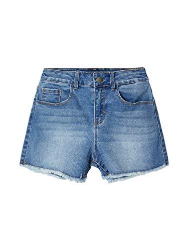 NAME IT Mädchen NKFRANDI MOM DNMCECE 1345 HW NOOS Shorts, Light Blue Denim, 146