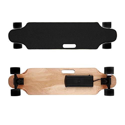"""Elektro-Longboard """"Fun"""", Elektro-Board, Skateboard elektrisch mit Motor, E-Longboard, E-Skateboard, E-Board, 300 Watt, 25 km/h, Fernbedienung, Produktvideo"""