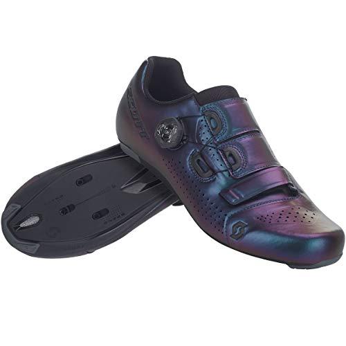 Scott Road Team Boa Rennrad Fahrrad Schuhe Prism lila/schwarz 2021: Größe: 43