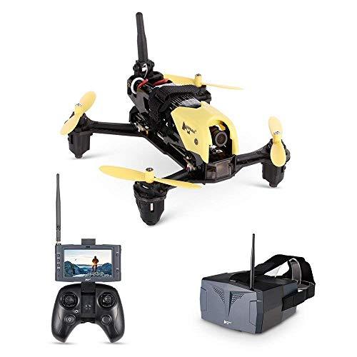 MEETGG RC Drohne, Original H122D 5,8G FPV Micro Racing Drohne Quadcopter Kohlefaser mit 720P Kamera HV002 Brille LCD Monitor