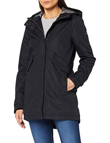 camel active Womenswear Damen 310634440843 Jacke, Navy, 46