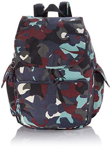 Kipling Damen City Pack Rucksack Mehrfarbig (Camo Large)