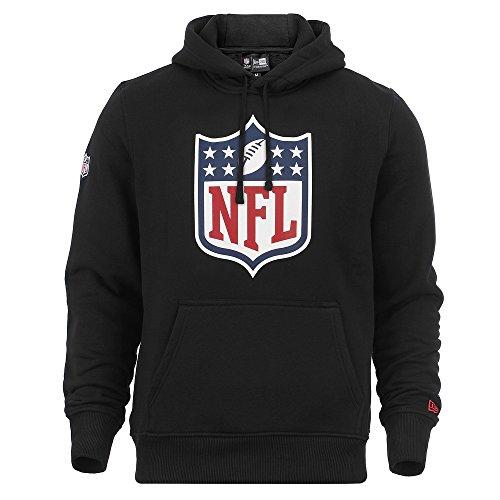 New Era Hoody - NFL Liga Logo schwarz - 4XL