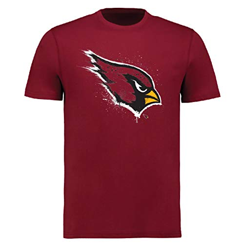 Fanatics NFL Football T-Shirt Arizona Cardinals Splatter Logo (XL)