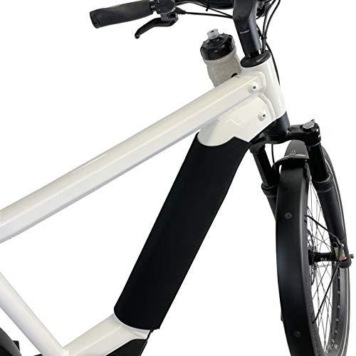 NC-17 Universal E-Bike Schutzhülle Standard für Akku im Unterrohr Batterie-Thermo-Cover, Schwarz, Passend für Rohrumfang von 30 cm bis 38 cm
