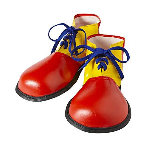 Widmann 9146P - Extra große Clown Schuhe, für Erwachsene