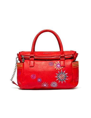 Desigual Damen Bols_Ada Loverty Henkeltasche Rot (Rojo)
