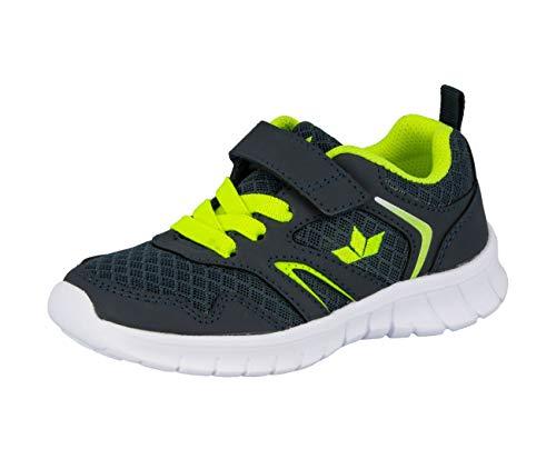 Lico Skip VS Herren Sneaker, Marine/ Lemon, 36 EU