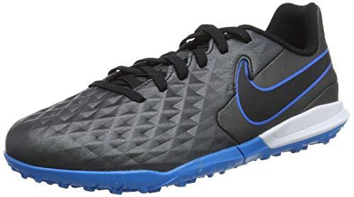 Nike Legend 8 Academy TF Fußballschuh, Black/Black-Blue Hero, 36 EU