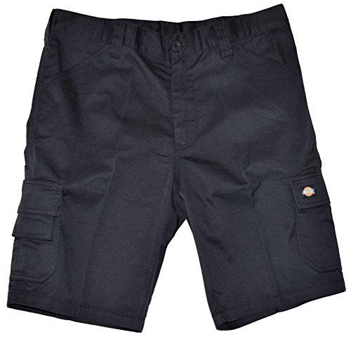 Dickies ED24/7 Shorts 2 Schenkeltaschen Kurze Hose (50, schwarz/schwarz)