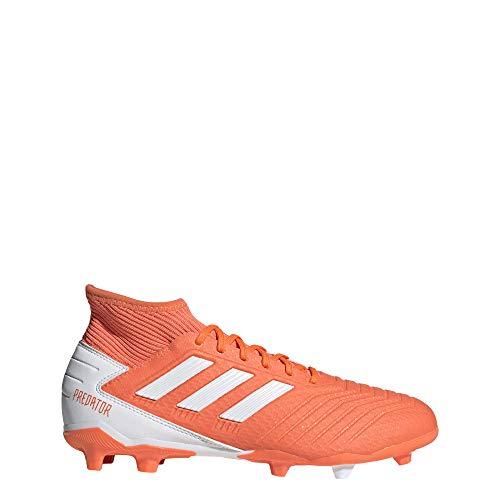 adidas Unisex-Erwachsene Predator 19.3 Fg W Fußballschuhe, Mehrfarbig (Coalre/Ftwbla/Rosbri 000), 39 1/3 EU
