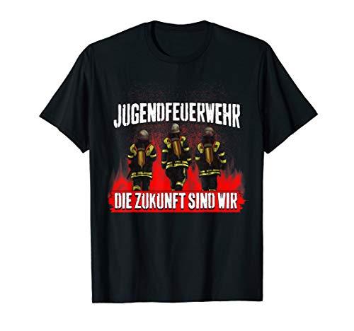 Jugendfeuerwehr Die Zukunft sind wir Feuerwehrmann Feuerwehr T-Shirt