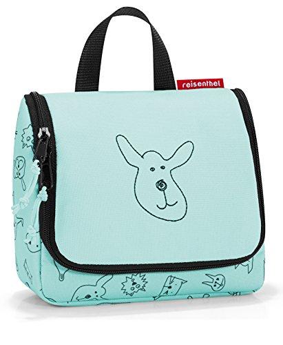 reisenthel toiletbag S kids cats and dogs mint Maße: 18,5 x 16 x 7 cm / Volumen: 1,5 l