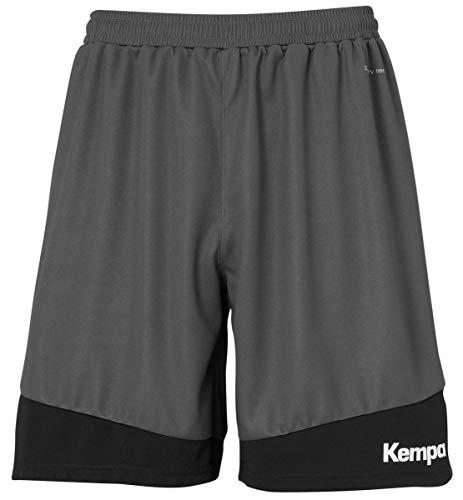 Kempa Herren Emotion 2.0 Shorts, Anthra/Schwarz, L