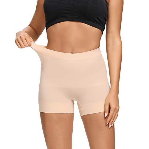 Joyshaper Miederpants Shapewear Damen Nahtlos Miederhosen Formende Unterwäsche Bodyshaper für Frauen,Hautfarbe,L