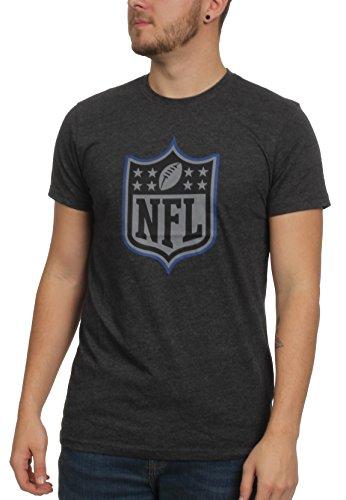 New Era NFL Logo T Shirt Two Tone Pop Tee Heather Charcoal - 4XL