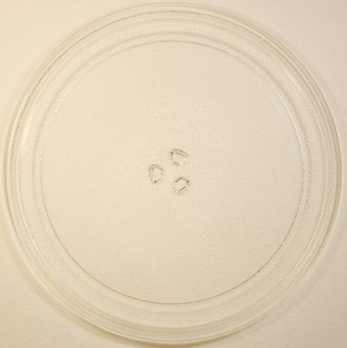 Mikrowellenteller / Drehteller / Glasteller für Mikrowelle # ersetzt Cybercom Mikrowellenteller # Durchmesser Ø 32,5 cm / 325 mm # Ersatzteller # Ersatzteil für die Mikrowelle # Ersatz-Drehteller # OHNE Drehring # OHNE Drehkreuz # OHNE Mitnehmer