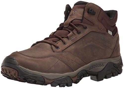 Merrell Moab Adventure Mid Rise, Homme Chaussures de Randonnée Hautes, Braun (dunkle Erde), 43.5 EU (9 UK)