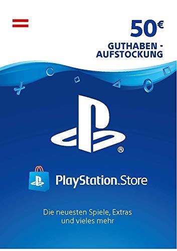 PSN Guthaben-Aufstockung | 50 EUR | österreichisches Konto | PS5/PS4 Download Code