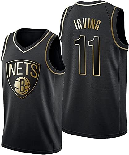 YDHZ Kyrìe Irvìng Basketball-Trikots für Männer, Bróoklyn Néts Irvìng # 11 Jersey, Besticktes Mesh Atmungsaktives Halbhülsen-T-Shirt (S-2XL) 5-XL