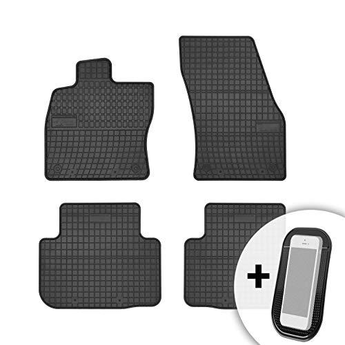 Gummimatten Auto Fußmatten Gummi Automatten Passgenau 4-teilig Set - passend für VW Golf Sportsvan ab 2014