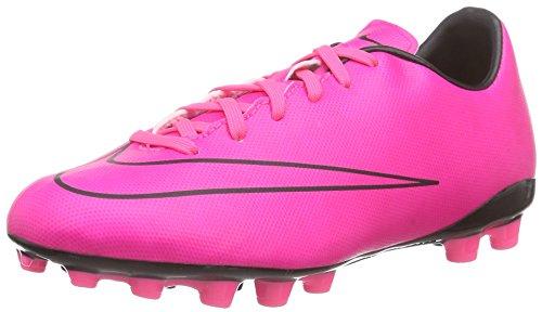 Nike Unisex-Kinder Junior Mercurial Victory V AG Fußballschuhe, Pink (Hyper Pink/Hyper Pink-Blk-Blk), 35