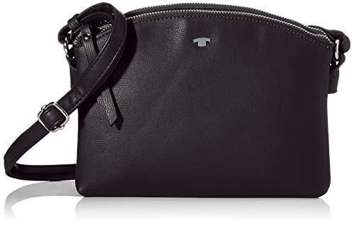 TOM TAILOR bags ROMA Damen Umhängetasche S, black, 25x7,5x17
