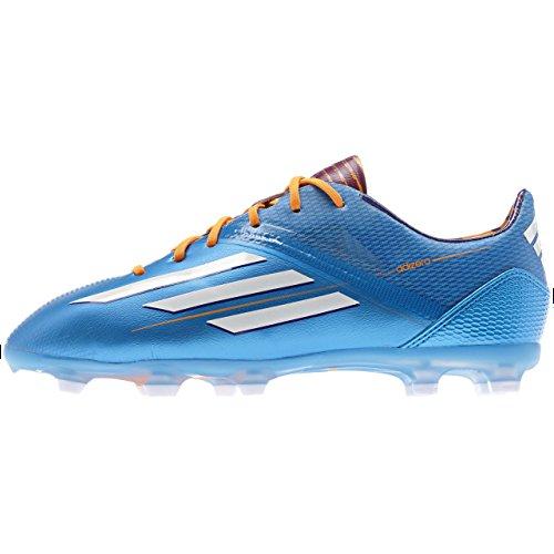 Adidas Schuhe Nockenschuhe F50 Fußball adizero FG Nockenschuhe Kinder Junior Kinder solblu/runwh, Größe Adidas:5.5