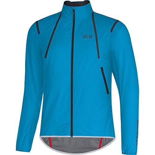 GORE Wear Herren Winddichte Rennrad-Jacke, GORE C7 GORE WINDSTOPPER Light Jacket, Größe: L, Farbe: Blau, 100187