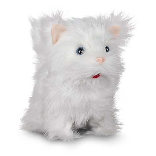 Süßes Kätzchen / Kuschelige Katze / Läuft und miaut (Elektronisches Spielzeug mit Funktion)