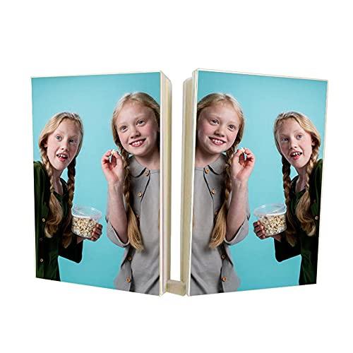 EKMON Benutzerdefiniertes personalisiertes Notizbuch, Design Drucken Sie Ihr Bild und Ihren Text,Geeignet für Souvenirs, Hochzeiten, Weihnachten, Geburtstagsgeschenk