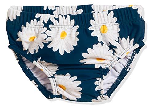 Playshoes Baby-Mädchen UV-Schutz Windelhose Margerite Schwimmwindel, Blau (Marine 11), 86 (Herstellergröße: 86/92)