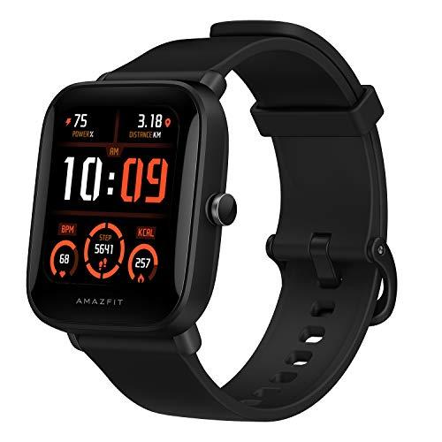 Amazfit Bip U Pro Smartwatch, mit integriertem GPS, 60 + Sportmodi, 5 ATM, Fitness-Tracker, Sauerstoff, Blut, Herzfrequenz, Schlaf- und Stressmonitor, 3,6 cm (1,43 Zoll), Touchscreen