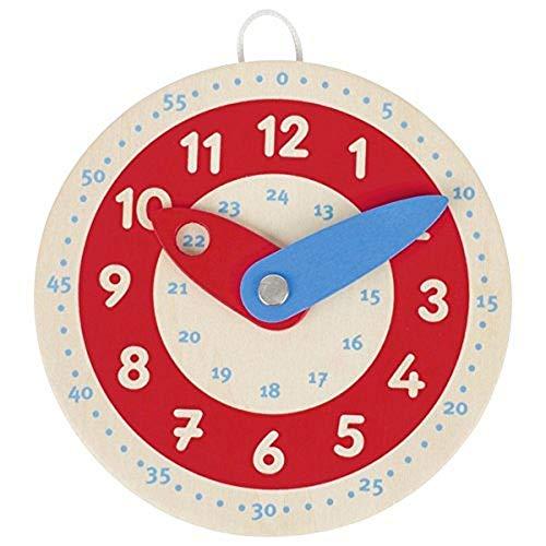 goki Lernuhr Learn to Tell The Time, 58485, gemischt, 10 cm