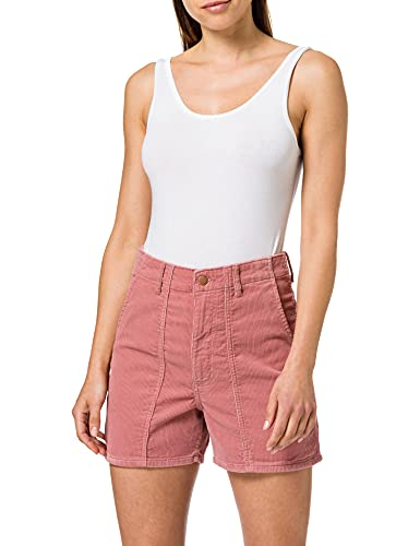 Wrangler Womens MOM Shorts, Dusty Rose, 31