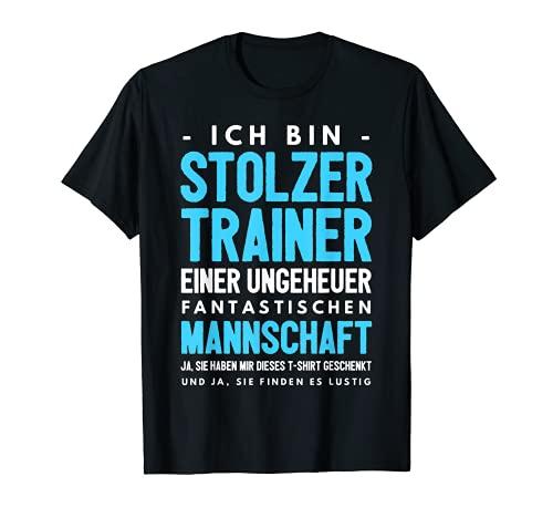 Lustiges Trainer Coach Sportlehrer Fussballclub Geschenk T-Shirt