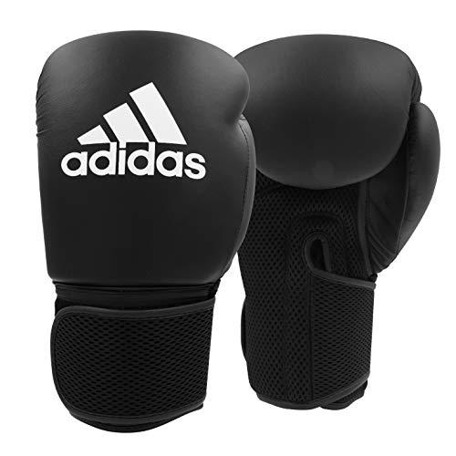 adidas Boxhandschuhe Hybrid 25 - Einstiegsmodell - Schwarz, 10 oz