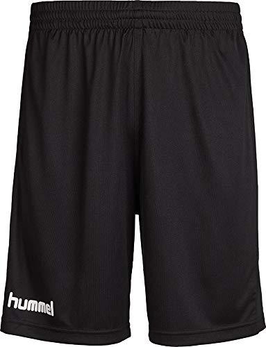 hummel Herren Atmungsaktiv Core Poly Shorts, Black Pr, M EU