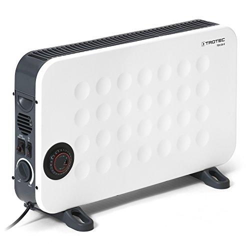 TROTEC Design Konvektor TCH 26 E Heizgerät mit Frostwächter stufenloser Thermosteuerung 2000 Watt