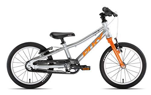 Puky LS Pro 16-1 Alu Kinder Fahrrad silberfarben/orange