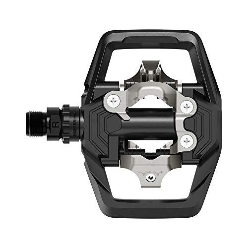 SHIMANO Unisex– Erwachsene PD m647 Fahrrad Pedal PD-ME700 Schwarz MTB SPD SM-SH51, 0
