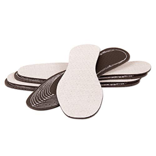 Die Schuhanzieher 3 Paar Set Aktivkohle Sohlen zum Zuschneiden z2029