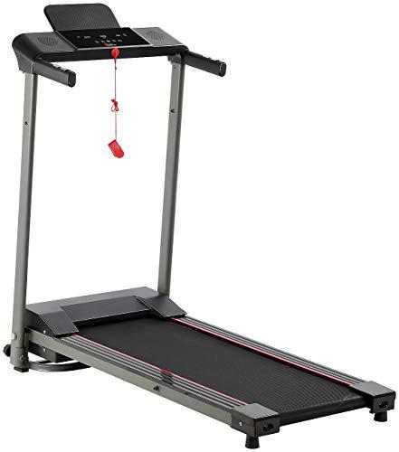 Newgen Medicals Treadmill Laufband: Laufband mit XL-LCD-Touch-Display, Tablet-Halter, klappbar, 600 W (Sport Laufband)