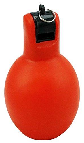 Best Sporting 10932 - Handpfeife für Training und Sportunterricht, rot/schwarz, ca. 11 x 6 cm, hygienische Alternative zur Trillerpfeife
